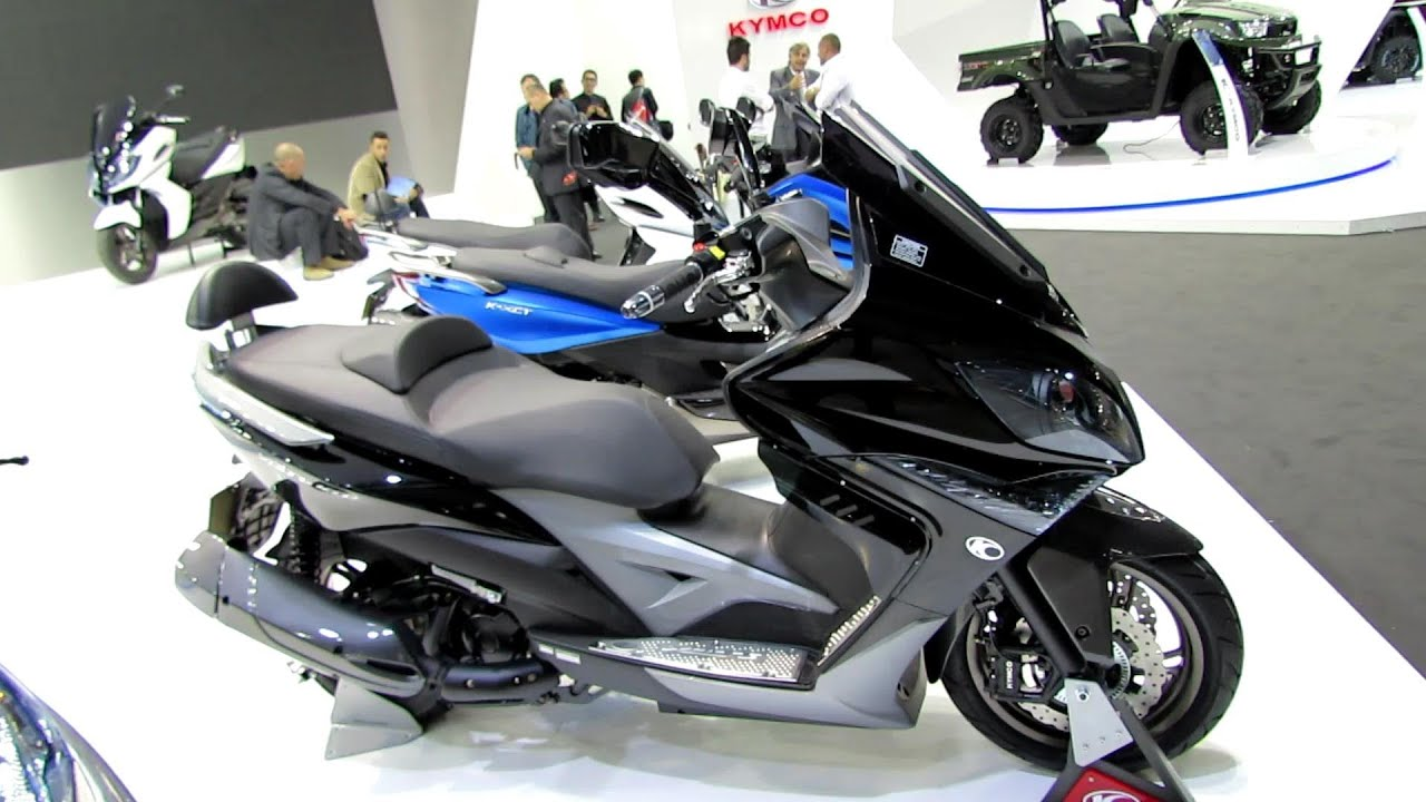 2014 kymco xciting 400i abs black colour scooter. Black Bedroom Furniture Sets. Home Design Ideas