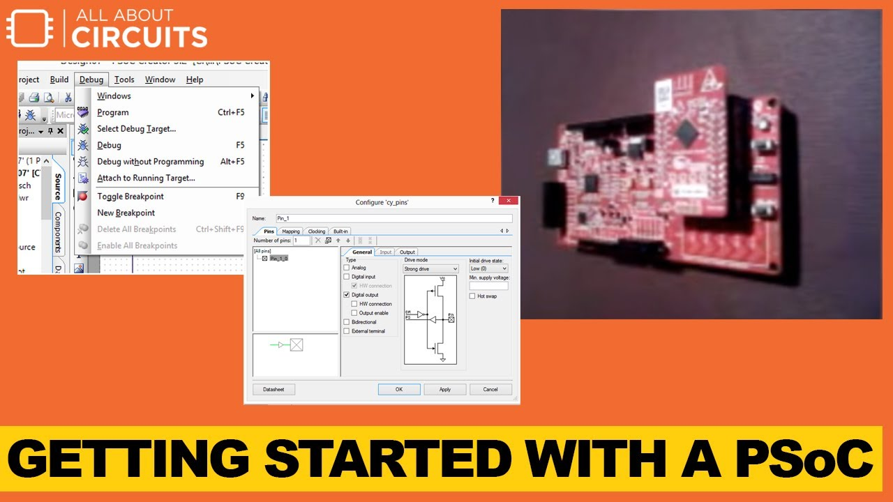 Getting Started with PSoC®