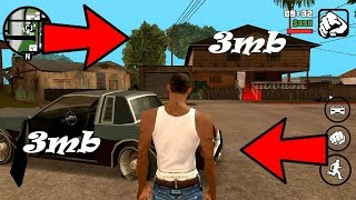 Gta San Andreas 3 MB Size [Full Game & Highly Compressed] [For Android]