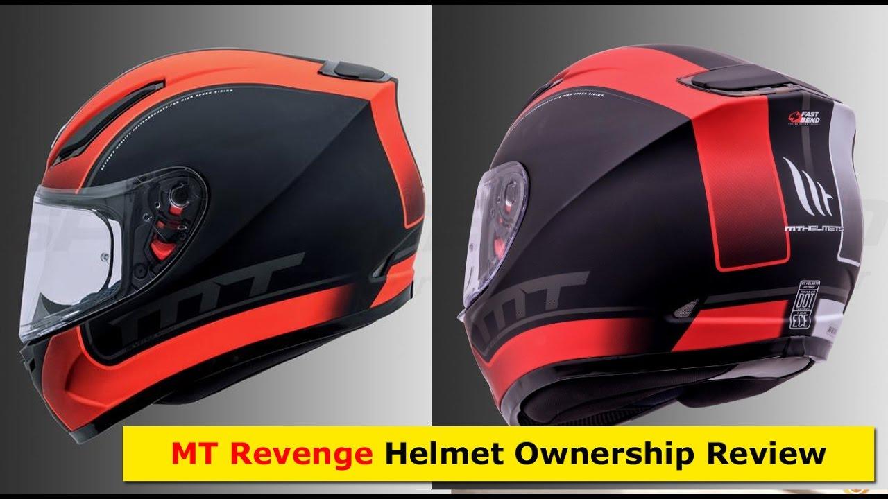 MT Revenge helmet Review - in depth review - YouTube e457560e3f1