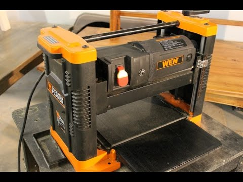 Wen 6550 Benchtop Planer Product Review