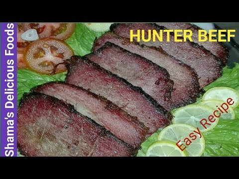 Hunter Beef Yummy Recipe By Shama's Delicious Foods.