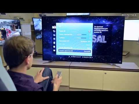 видео: 3d led-телевизоры samsung серии f8000