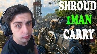 Shroud Become to Carry Squad Team ! Best Blackout COD Gameplay ( 12/05/2018 )
