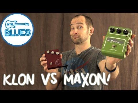 Maxon Overdrive Pro OD-820 vs Klon KTR