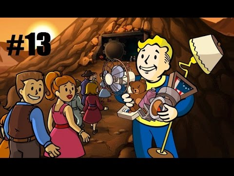Fallout Shelter Walkthrough Part 13 - WE NEED MORE STORAGE!
