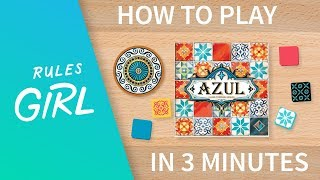 How to Play Azul in 3 Minutes - Rules Girl