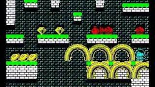 Rainbow Islands Walkthrough, ZX Spectrum