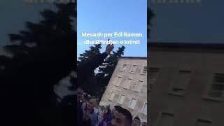 Qytetaret i pergjigjen Rames, i nxjerrin gishtin e mesit te kryeministria