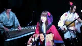 【和楽器バンド】月・影・舞・華【演奏してみた】.avi
