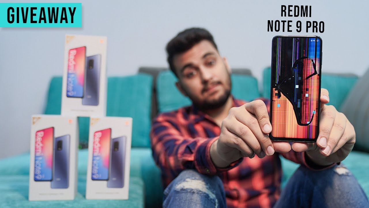Redmi Note 9 Pro Slipped and this HAPPENED | *NOT DURABLE* | *GIVEAWAY*