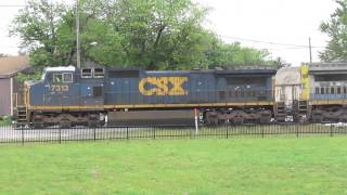 CP & CSX Action in Fostoria Ohio