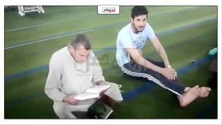توافد المصلين علي مسجد 'أبو بكر' في الإسماعيلية لأداء صلاة العشاء (فيديو وصور)