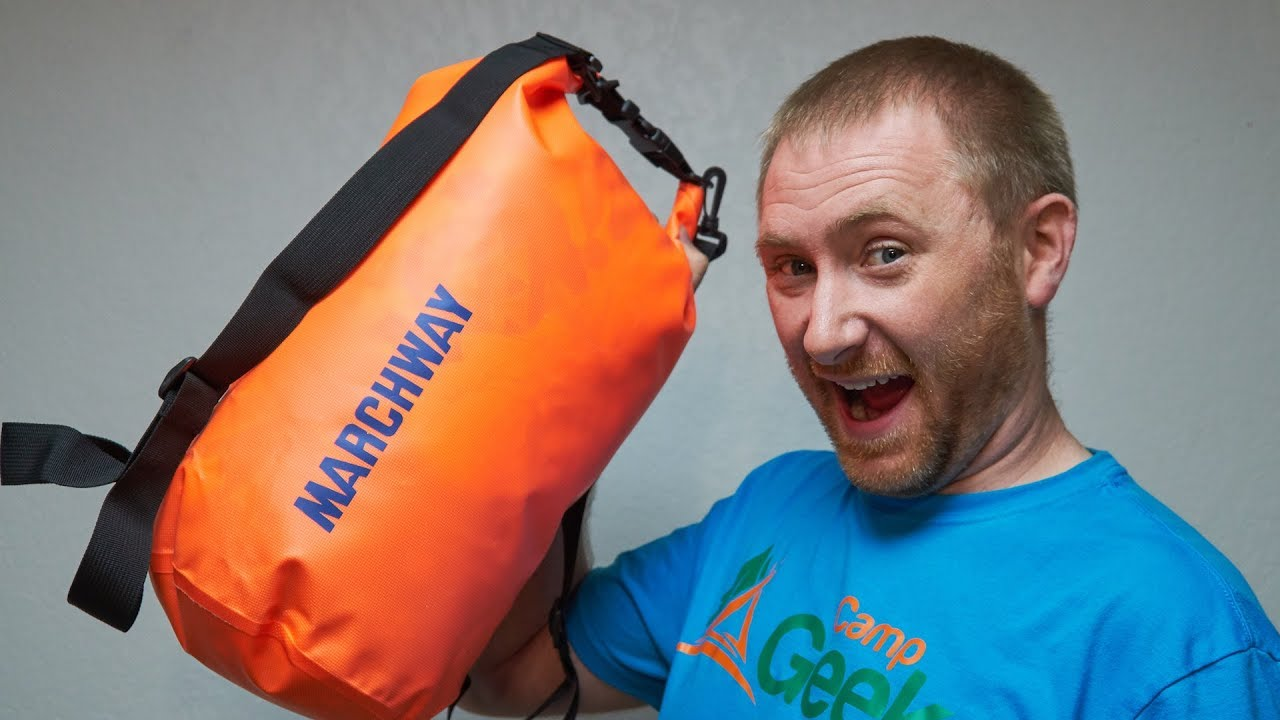 00d5e819bf6 Marchway Waterproof Dry Bag Review - YouTube