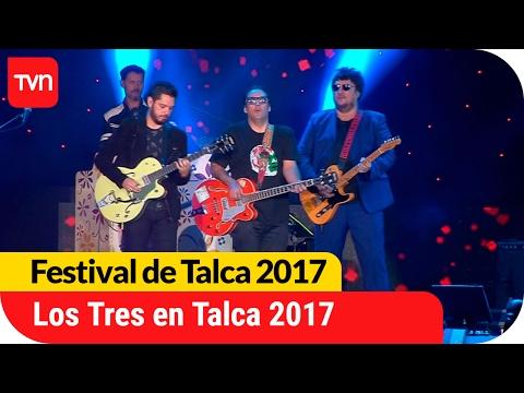 El rock chileno se hace presente en Talca con Los Tres  | Festival de Talca 2017