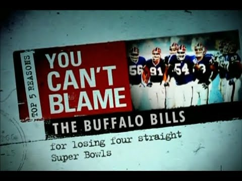 Top 5 Reasons You Can't Blame the Buffalo Bills