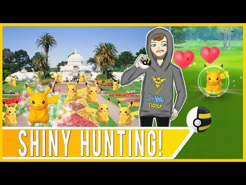 POKEMON GO UPDATE CHAT! Shiny Hunting in San Francisco Pikachu Nest at Golden Gate Park!