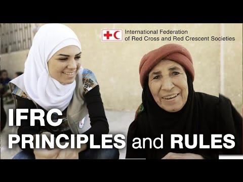 Principles and Rules for Red Cross and Red Crescent Humanitarian Assistance.
