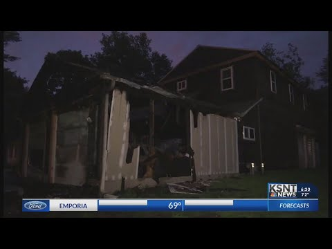 Thursday Night House Fire Caused By Fireworks, Officials Say