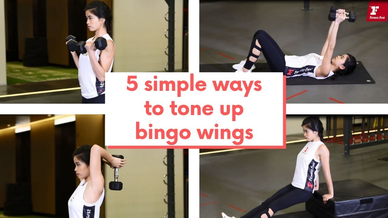 【5個簡單動作趕走Bye Bye肉 5 simple ways to get rid of bingo wings⁠】⁠ - YouTube