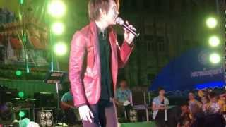 Mini concert รุจ เดอะสตาร์ @ Countdown 2013 อุทัยธานี