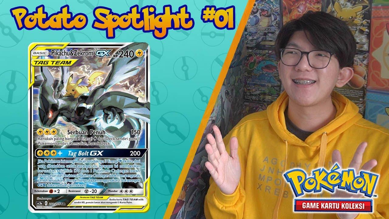 Potato Spotlight #01: Pikachu & Zekrom GX Tag Team - Pokemon TCG Indonesia