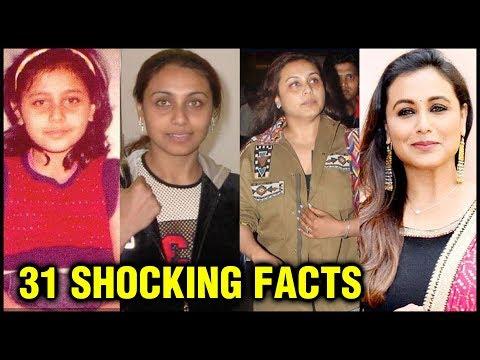 Rani Mukerji 31 SHOCKING UNKNOWN Facts | Childhood To Marriage With Aditya Chopra