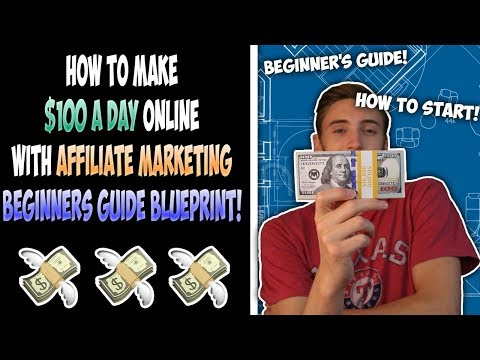 How To Make $100 A Day Online With Affiliate Marketing | Beginners Guide BLUEPRINT!