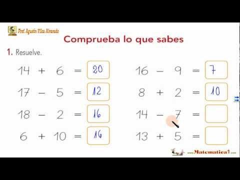 EXAMEN RESUELTO-Matemáticas Niños 5 ó 6 Años-Ejercicios ...