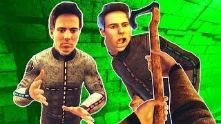 I Meet My Clones and Things Got Weird Immediately in Boneworks VR!