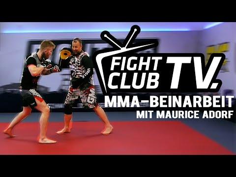 Fight Club TV Folge 1: Beinarbeit Im MMA Mit Maurice Adorf