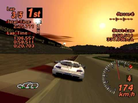 Gran Turismo 2 J TVR Speed 12 Red Rock