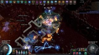 Path of exile - Low Life Pathfinder Blade Vortex. Prophecy Hardcore Uber Atziri