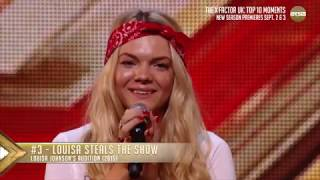 #3 Louisa Steals the Show | The X Factor UK Top 10 Moments on AXS TV