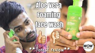 Wow Skin Science Aloe vera Foaming Face wash | Best face wash ever? | Honest Review |Vaishnav Vinod