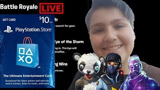 Fortnite | Playing With Viewers! PS4 Gift Card Giveaway!