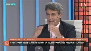 Carlos Pagni entrevista a Alfonso Prat-Gay - Odisea Argentina