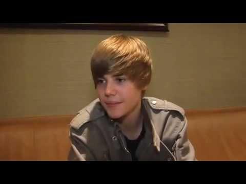 Justin Bieber Backstage On The Oprah Show