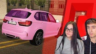 МАША ЗАТЮНИНГОВАЛА СВОЙ BMW X5M - MTA RADMIR GTA