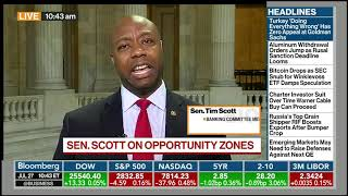 Senator Tim Scott on his Opportunity Zones Legislation — Bloomberg