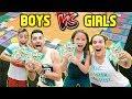 GIANT BOARD GAME CHALLENGE!! WINNER GETS $10,000!!! (BOYS VS GIRLS) | The Royalty Family
