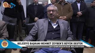 Şehit Aileleri, Gaziler ve STK'lardan Belediye Başkanımız Mehmet Zeybek'e Büyük Destek