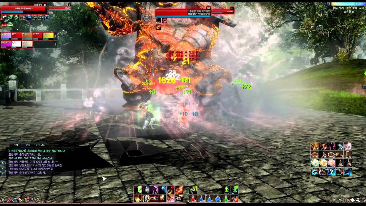 Видео ArcheAge Online World Boss - The Gatekeeper Yacha Hazurad Siege Tank