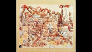 Landscape with Agaves - No. 88 from Paul Klee : Painted Songs