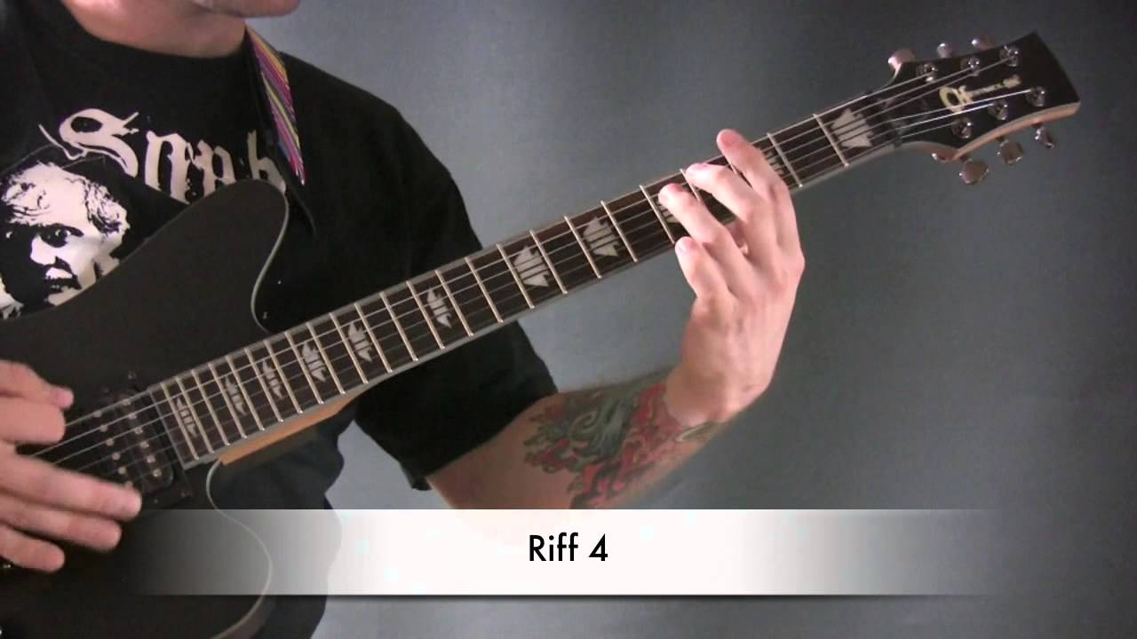 how to play end of the innocence on guitar