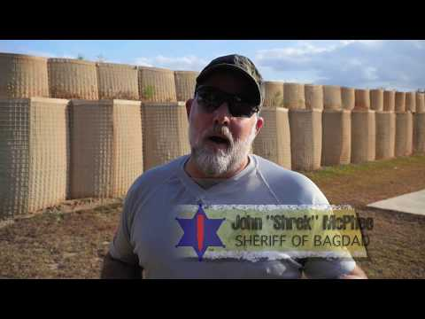 """Presentation from the Holster, with John """"Shrek"""" McPhee the Sheriff of Baghdad!"""