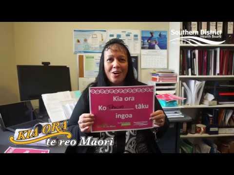 Māori Language Week SDHB 2017