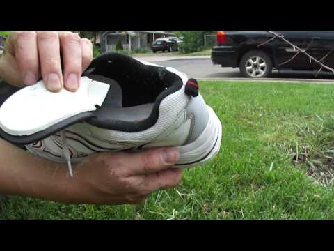 lawn spike shoes / aerating shoes homemade
