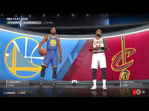 NBA LIVE 18 - Golden State Warriors vs Cleveland Cavaliers |