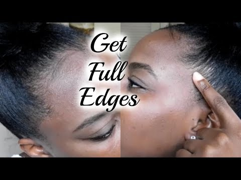 How To Grow Relaxed Edges Back & Keep Them THICK AND FULL